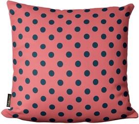 Almofada de Páscoa Bolinhas Rosa 45x4545x45cm
