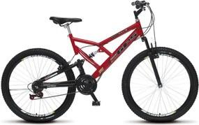 Bicicleta Colli Bikes Aro 26 Full-s GPS Vermelho