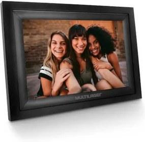 Porta Retrato Digital com Wi-Fi LCD 7 Pol. Touch Entradas