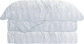 Colcha Matelasse Casal Gigante Damask Branco Camesa 220x240cm