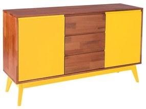 Buffet Diamante Amarelo - Wood Prime MP 221032