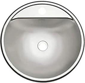 Lavabo de sobrepor Tramontina Demi FX em Aço Inox com Acabamento Acetinado 34x14 cm Tramontina 94121107