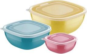Jogo De Potes 3Pçs Mixcolor Multicolorido Tramontina