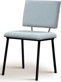 Cadeira Preciosa Cinza Base Preta - 50730 Sun House