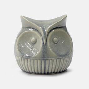 Objeto Decorativo em Cerâmica Coruja