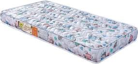 Colchão De Berço Baby Luxo D18 130X60X10 Branco C/Ursinhos Celiflex