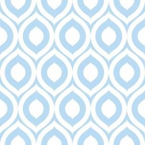 Papel De Parede Adesivo Olhos Azuis (0,58m x 2,50m)