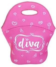 Lancheira Diva Rosa Pink