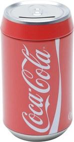 Cofre Metal Round Coca-Cola Classic Can Vermelho 6,5X6,5X12 Cm Urban