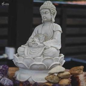 Fonte de Buda em Marmorite 30cm