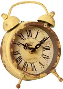 Relógio de Mesa Decorativo de Metal Horologius