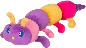Chocalho Centopeia CAS Brinquedos Colorida - Antialérgico - 45 cm - Roxo
