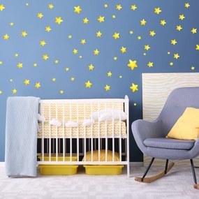Adesivo de Parede Estrelas Amarelas 180un