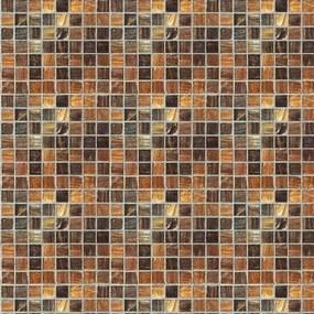Pastilhas Pastilhas Adesivas Rústicas Marrom (0,60m x 2,50m)