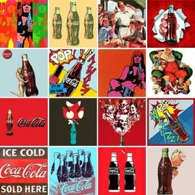 Adesivo para Azulejo Coca Vintage