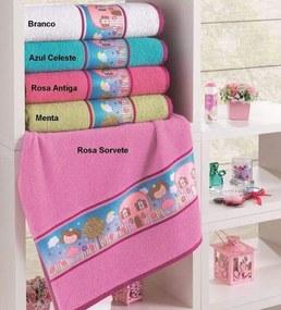 Toalha de Lavabo Infantil Alice - 30x50cm - Lufamar