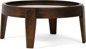Mesa de Centro Decorativo Para Sala de Estar Peaky 68x30 Canela - Gran Belo