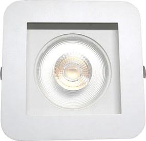 Plafon Embutir Aluminio Branco 15,5cm