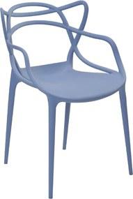 Cadeira Decorativa Sala e Cozinha Feliti (PP) Azul Caribe - Gran Belo