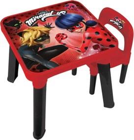 Mesa Com Cadeira Miraculous Ladybug Fun Divirta-Se