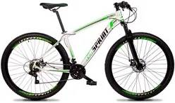Bicicleta MTB Aro 29 Quadro 15 Alumínio 21 Marchas Freio Mecânico Volc