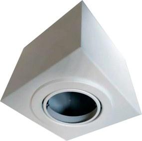 Plafon Direcional Sobrepor Branco Texturizado 1XPAR20 E27 - Rioprelustres - 3500/1 PAR20 BR-TEXT