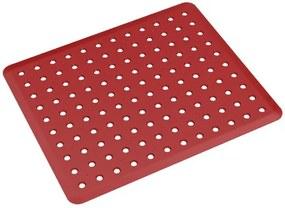 Grade de Pia Basic 32,8x27,8x0,3cm Vermelho Bold - 10863/0465 - Coza - Coza