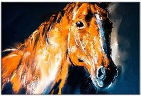 Tela Decorativa Abstrato Cavalo Grande Love Decor