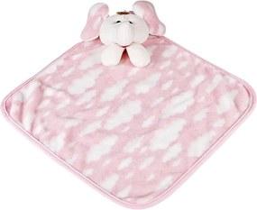 Naninha Soft Elefante Rosa P