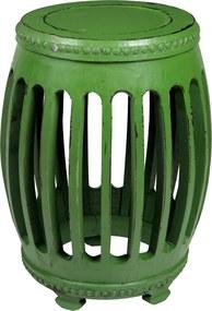 Garden Seat Coluns Verde