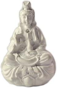 Mini Estátua Kuan Yin em Resina (7cm)