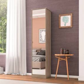 Sapateira Mirror C/ 1 Porta Nogal Touch