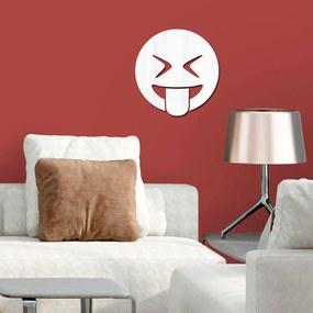 Espelho Decorativo Emoji Trolando