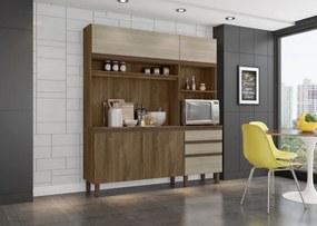 Cozinha compacta Azaleia Carvalho Berlim/Viena - Mobler
