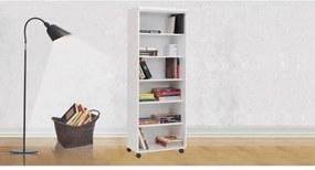 Porta-Livros Móveis Ilan Elegance Branco