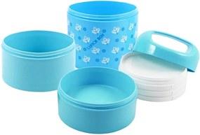 Pote Jacki Design Marmita Azul