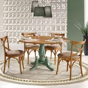 Conjunto de Jantar Hannover com Cadeiras X Manchester Móveis Linz