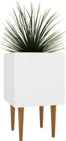 Cachepot Box Branco Estilare Móveis