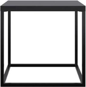 Mesa Centro Cube Preto Aco Preto 38cm - 59291 Sun House