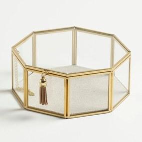 Porta-Objetos Moldura Metalizada Trendy