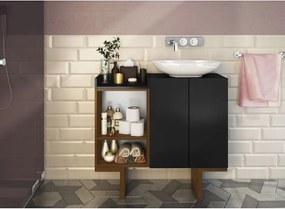 Banheiro Set Preto Estilare