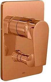 Acabamento para Chuveiro Monocomando 4 Vias Level Red Gold - 4994.GL26.RD - Deca - Deca