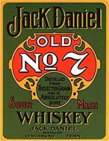 Placa Decorativa Jack Daniels - Green