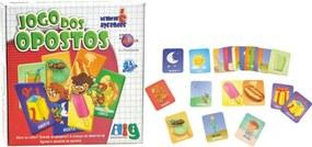 Jogo de Fichas Nig Opostos Multicolorido