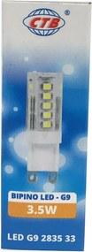 Lâmpada de Led G9 3,5W 3000K - CTB - 127V