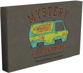 Tela Hanna Barbera Scooby Mistery Machine Car Service Colorido - Urban