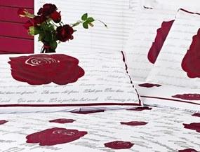 Jogo de Cama Vilela Enxovais  Lençol Estampado 200 Fios King Craft 04 Peças - Roses