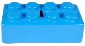 Cofrinho Peça de Lego Azul