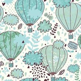 Papel De Parede Adesivo Balões (0,58m x 2,50m)