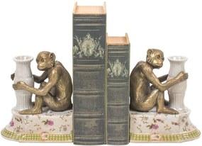 Aparador de Livros Decorativo de Porcelana Petite Rose